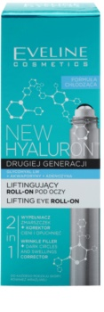 Eveline Cosmetics New Hyaluron roll-on de contorno de ojos refrescantecon efecto lifting  2 en 1