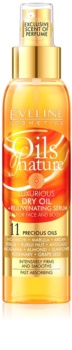 Eveline Cosmetics Oils of Nature розкішна суха олійка з омолоджуючою сироваткою