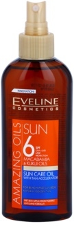 Eveline Cosmetics Sun Care olio abbronzante in spray SPF 6
