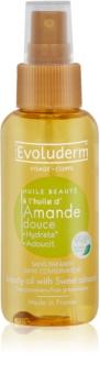 Evoluderm Beauty Oil zkrášlující olej na pleť a vlasy s výtažky z mandlí