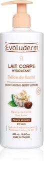 Evoluderm Delice de Karite hydratačné telové mlieko s bambuckým maslom