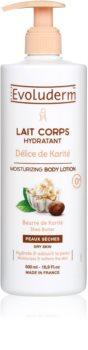Evoluderm Delice de Karite hydratační tělové mléko s bambuckým máslem