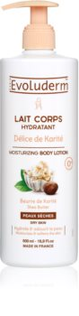 Evoluderm Delice de Karite lotiune de corp hidratanta unt de shea