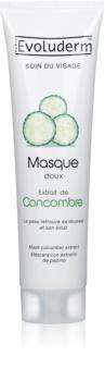 Evoluderm Face Care masque visage aux extraits de concombre
