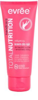 Evrée Total Nutrifirm tápláló kézkrém száraz és érzékeny bőrre