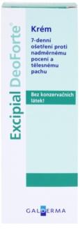 Excipial DeoForte antipersiprant crema  impotriva transpiratiei excesive