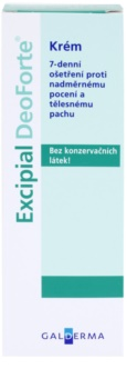 Excipial DeoForte antiperspiračný krém proti nadmernému poteniu