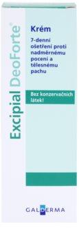 Excipial DeoForte creme antitranspirante contra suor excessivo