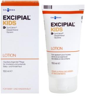 Excipial Kids zvláčňujúce a hydratačné mlieko pre suchú a podráždenú pokožku