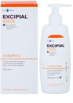 Excipial Kids champú para calmar el cuero cabelludo seco e irritado de los bebés y niños