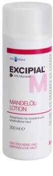 Excipial M Almond Oil leite corporal para peles secas e sensíveis