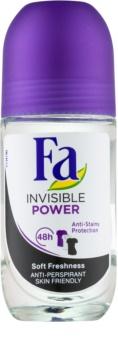 Fa Invisible Power antitranspirante roll-on