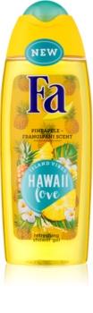 Fa Island Vibes Hawaii Love osvežujoč gel za prhanje