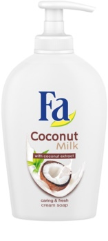 Fa Coconut Milk savon crème avec pompe doseuse
