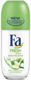 Fa Fresh & Dry Green Tea antitranspirante roll-on