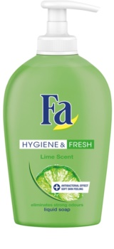 Fa Hygiene & Fresh Lime sabonete líquido com doseador