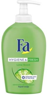 Fa Hygiene & Fresh Lime savon liquide avec pompe doseuse