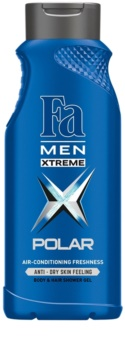 Fa Men Xtreme Polar sprchový gel na tělo a vlasy