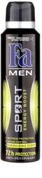Fa Men Sport Energy Boost antiperspirant Spray