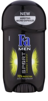 Fa Men Sport Energy Boost antitranspirante en barra
