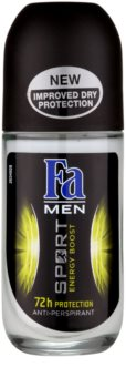 Fa Men Sport Energy Boost guličkový antiperspirant