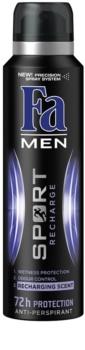Fa Men Sport Recharge Antiperspirant In Spray