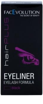 FacEvolution Hairplus рідка підводка для очей з активними компонентами для росту вій