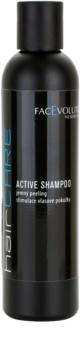 FacEvolution HairCare šampón proti vypadávaniu vlasov a pre podporu ich rastu