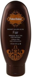 Fake Bake Fair Self-Tanning Milk for Gradual Tan