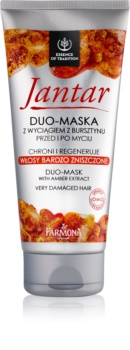Farmona Jantar maska pro poškozené vlasy