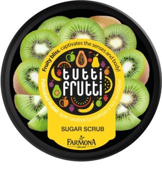 Farmona Tutti Frutti Kiwi peeling corporal cu zahar