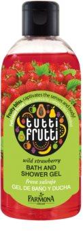 Farmona Tutti Frutti Wild Strawberry gel de duche e banho