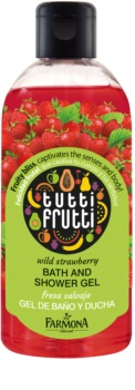 Farmona Tutti Frutti Wild Strawberry gel za prhanje in kopanje