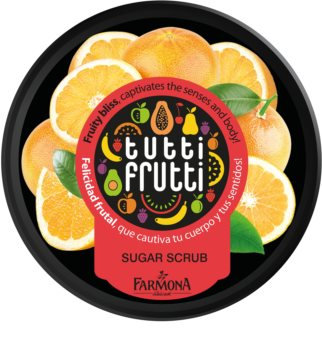 Farmona Tutti Frutti Grapefruit peeling corporal com açúcar