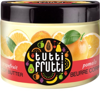 Farmona Tutti Frutti Grapefruit manteiga corporal aveludada