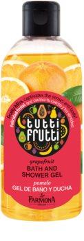 Farmona Tutti Frutti Grapefruit gel de ducha y baño