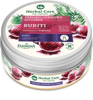 Farmona Herbal Care Buriti vyživujúci telový peeling