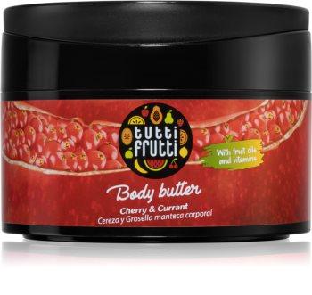 Farmona Tutti Frutti Cherry & Currant unt  pentru corp