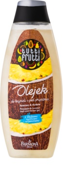 Farmona Tutti Frutti Pineapple & Coconut Dusch- und Badgel