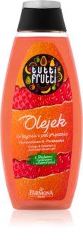 Farmona Tutti Frutti Orange & Strawberry Shower and Bath Gel Oil