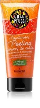 Farmona Tutti Frutti Orange & Strawberry hydratačný cukrový peeling s vitamínmi