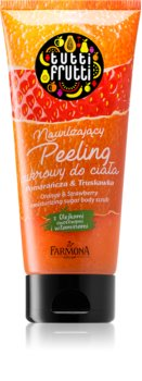Farmona Tutti Frutti Orange & Strawberry Moisturising Sugar Scrub With Vitamins