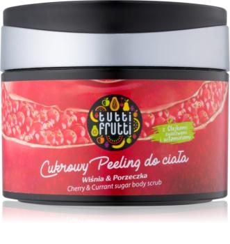 Farmona Tutti Frutti Cherry & Currant peeling de açúcar para corpo