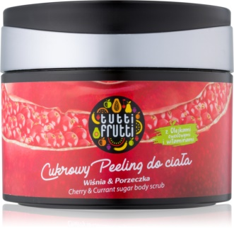 Farmona Tutti Frutti Cherry & Currant Sugar Scrub for Body