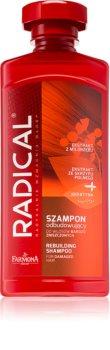 Farmona Radical Damaged Hair odbudowujący szampon z keratyną do włosów zniszczonych