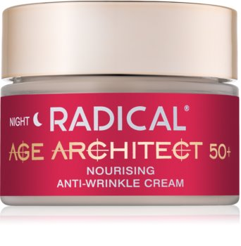 Farmona Radical Age Architect 50+ hranilna krema proti gubam za noč