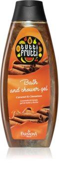 Farmona Tutti Frutti Caramel & Cinnamon gel de duche e banho