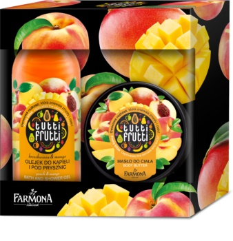 Farmona Tutti Frutti Peach & Mango Cosmetic Set IV.