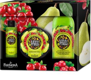 Farmona Tutti Frutti Pear & Cranberry kozmetická sada III.