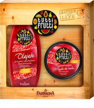 Farmona Tutti Frutti Cherry & Currant ajándékszett I. (testre)